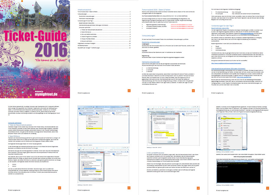 Ticket Guide: Vorschau